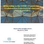 White Paper on Covid-19 response - collaboration between cities and technology providers