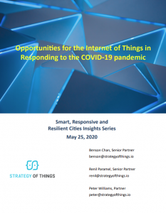 White Paper - Opportunities for IoT in responding to the COVID-19 pandemic