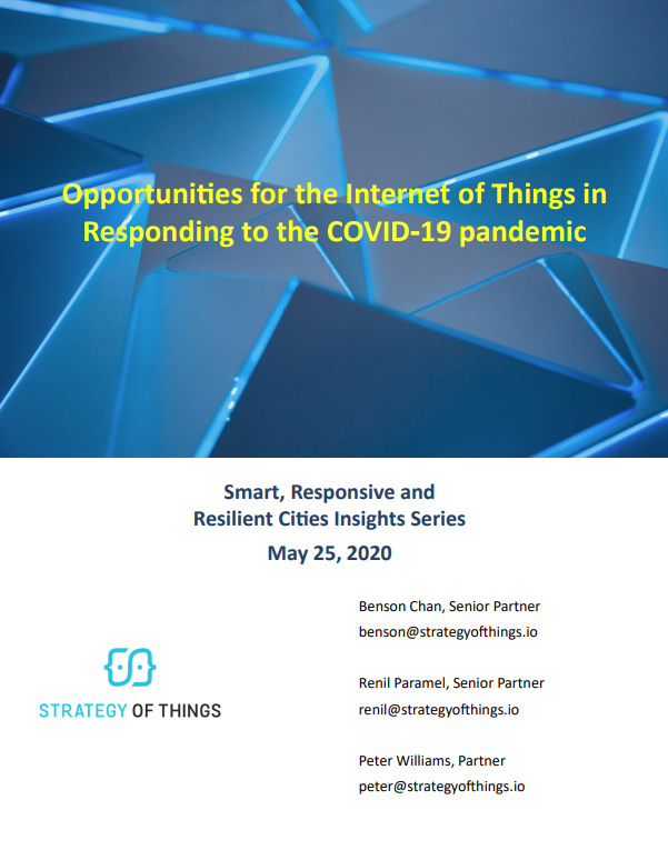 Opportunities for IoT in responding to the COVID-19 pandemic